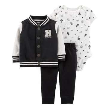 Carter's Baby Boys' 3-Piece Handsome Cardigan Set