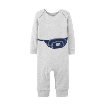 Carter's Baby Boys' Fanny Pack Jumpsuit