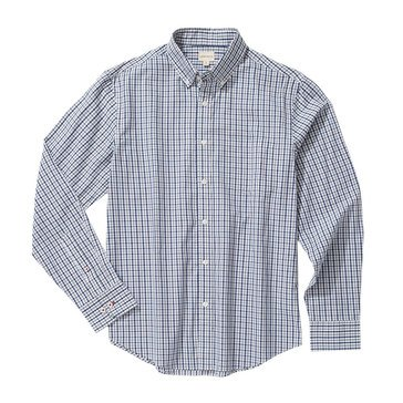 Eight Bells Men's Long SleeveSlim Fit Small Gingham Sport Shirt