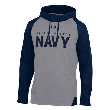 Under Armour Men's USN Sports Style Fleece Hoodie