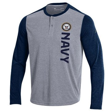 Under Armour Men's USN Threadborne Long Sleeve Tee