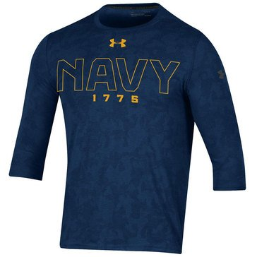 Under Armour Men's USN 1775 Threadborne Utility Tee