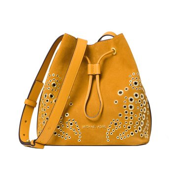 Michael Kors Cary Small Bucket Bag Paisley Stud