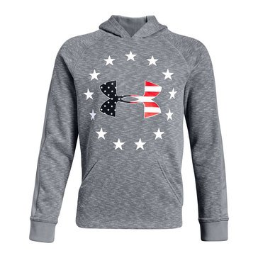 Under Armour Big Boys' Freedom Tech Terry Hoodie