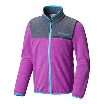 Columbia Big Girls' Mountain Crest Midweight Full Zip Jacket