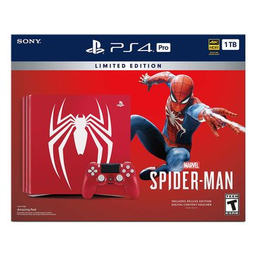 PS4 Pro 1TB Spider-Man Limited Edition