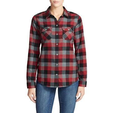 Eddie Bauer Women's Favorite Flannel Shirt