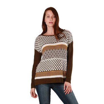 Skye's The Limit Women's Mixed Stitch Eyelash Sweater
