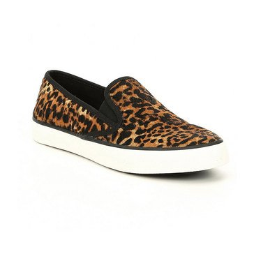 Sperry Women's Seaside Leopard Slip On