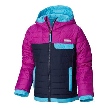Columbia Little Girls' Mountainside Full Midweight Zip Jacket