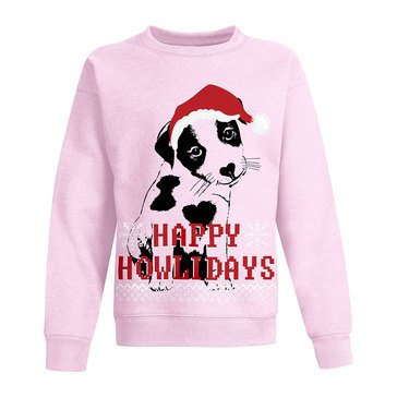 Hanes Big Girls' Let It Snow Fleece Pullover
