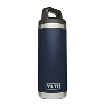 YETI 18 Oz Rambler Bottle - Navy
