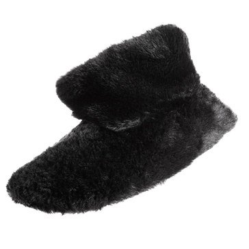Totes Isotoner Women's Faux Fur Elise Boot Slippers