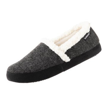 Totes Isotoner Women's Heathered Knit Marisol Closed Back Slippers