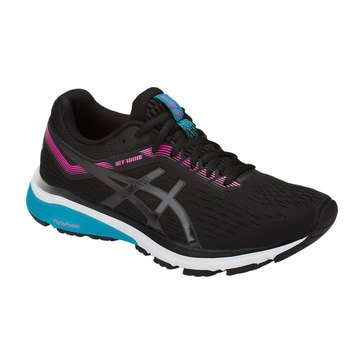 Asics GT 1000 7 Women's Running Shoes Black / Black