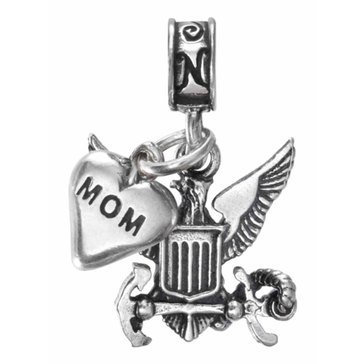 Nomades Navy Emblem With Mom Charm