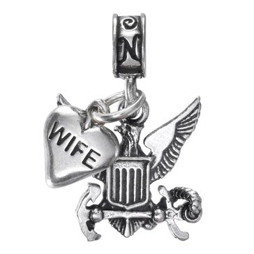 Nomades Navy Emblem With Wife Charm