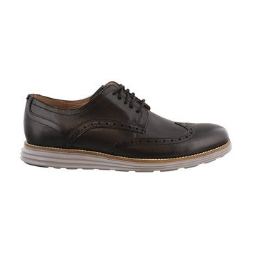 Cole Haan Grand Shortwing Men's Casual Oxford-Black Ironstone