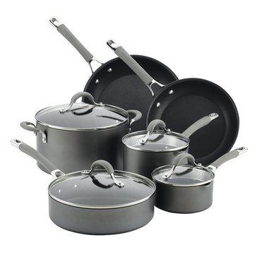 Circulon Elementum 10-Piece Hard-Anodized Non-Stick Cookware Set