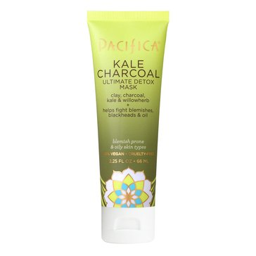 Pacifica Kale Charcoal Ultimate Detox Mask 2.25oz