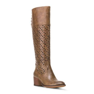 Wanted Foothill Knee High Laser Cut Boot