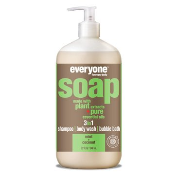 Everyone 3 In 1 Mint + Coconut Hand Soap 32oz