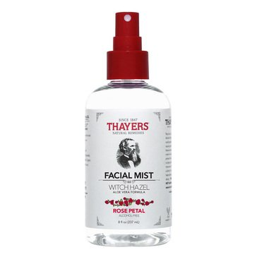 Thayers Alcohol-Free Rose Petal Witch Hazel Facial Mist Toner 8oz