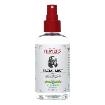Thayers Alcohol-Free Cucumber Witch Hazel Facial Mist Toner 8oz