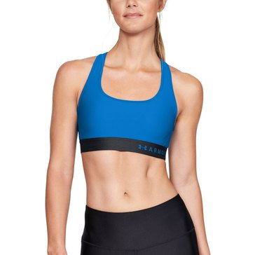 Under Armour Women's Mid Crossback Sports Bra