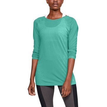 Under Armour Women's Throwback Seamless Long Sleeve Top