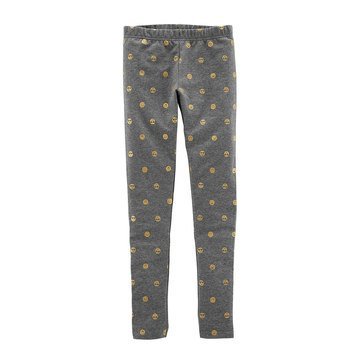 Carter's Little Girls' Emoji Leggings