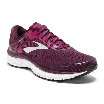 Brooks Adrenaline GTS 18 Women's Running Shoe White / Purple / Grey