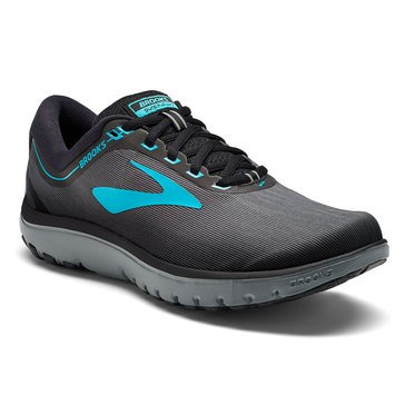 Brooks PureFlow 7 Women's Running Shoe Grey / Black / Green