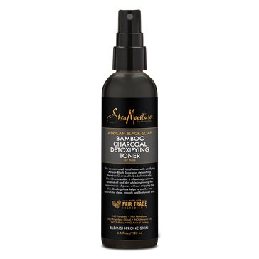 SheaMoisture African Black Soap Bamboo Charcoal Detoxifying Toner 4.5fl oz