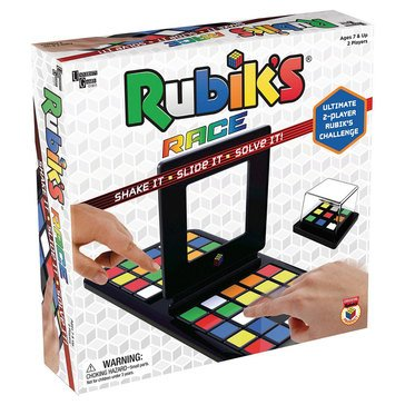 Rubik's Cube Brain Challenge Race Game