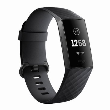 Fitbit Charge 3, Graphite/ Black