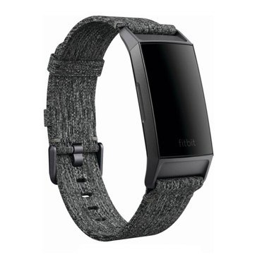 Fitbit Charge 3 Accessory Woven Band Charcoal, Small