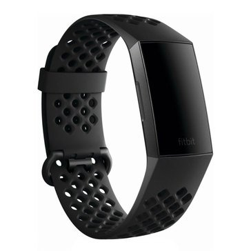 Fitbit Charge 3 Accessory Sport Band Black, Small