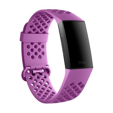 Fitbit Charge 3 Accessory Sport Band Berry, Small