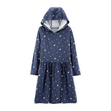 Carter's Little Girls' Hooded Unicorn Dress