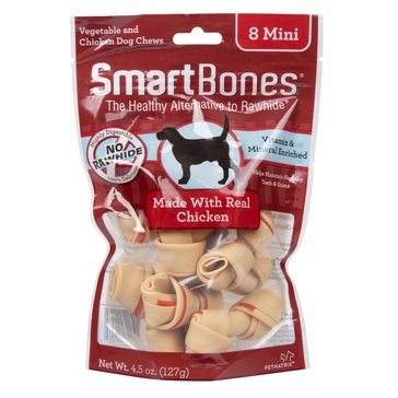 SmartBones Chicken Mini Chews for Dogs