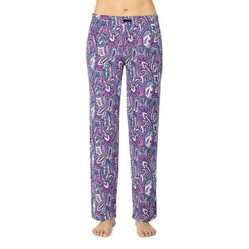 Ellen Tracy Women's Brushed Poly Spandex Long Sleep Pants