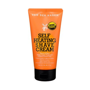Van Der Hagen Self Heating Shave Cream 6oz