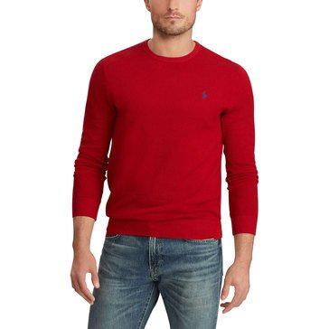 Polo Ralph Lauren Men's Textured Pima Cotton Sweater