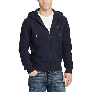 Polo Ralph Lauren Men's Long Sleeve Double Knit Full Zip Hoodie