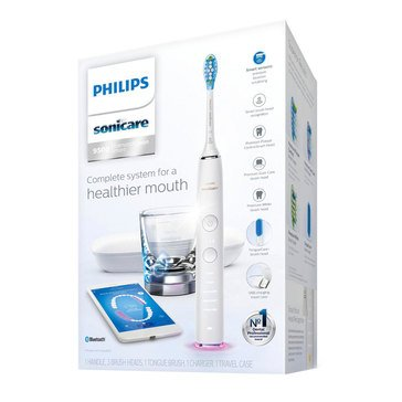 Philips Diamondclean Smart Sonic Electric Toothbrush with App - White