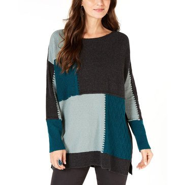 Style And Co Womens Colorblock Tunic