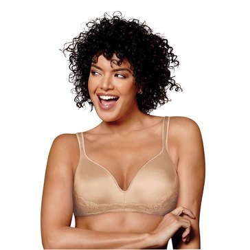Playtex Women's Love My Curves Wirefree Bra