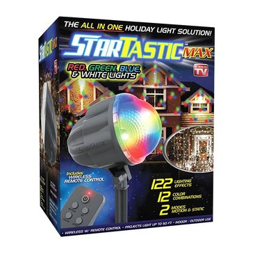 As Seen On TV Startastic Max Remote-Controlled Holiday Light Projector