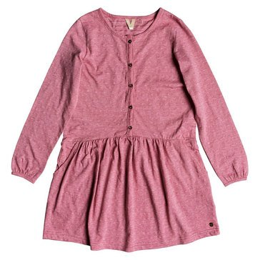 Roxy Big Girls' You Are Gold Long Sleeve Dress